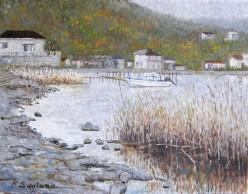 冬の浜名湖