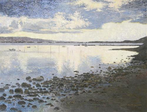 夜明けの漁場
