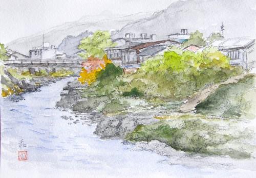 郡上吉田川