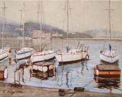 凪の白谷港