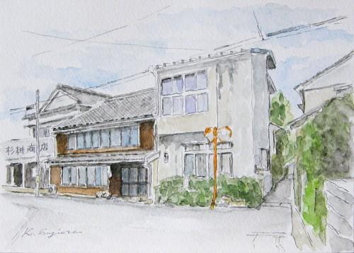古い旅館Ⅱ