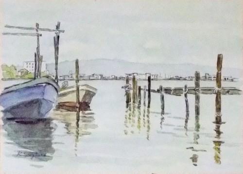 浜名湖・とある舟着場