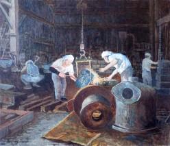 懐かしい鋳物工場