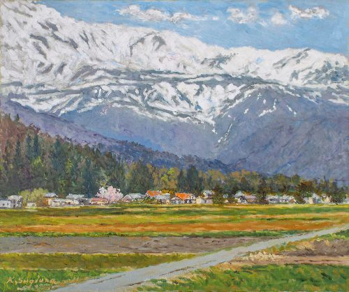 アルプス麓の村
