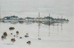 静かな漁村