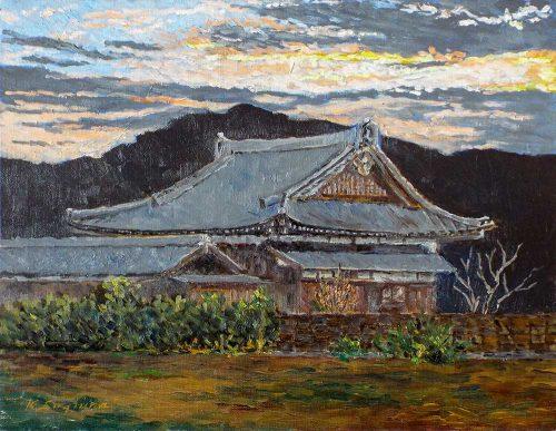 夜明けの正念寺
