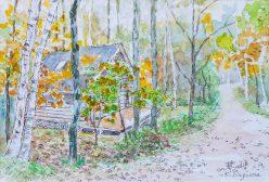 別荘のある小径(2)